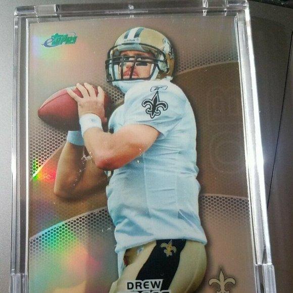 2011 ETOPPS Drew Brees Encased Card #321/799